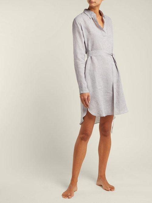 Linen Shirtdress by Pour Les Femmes
