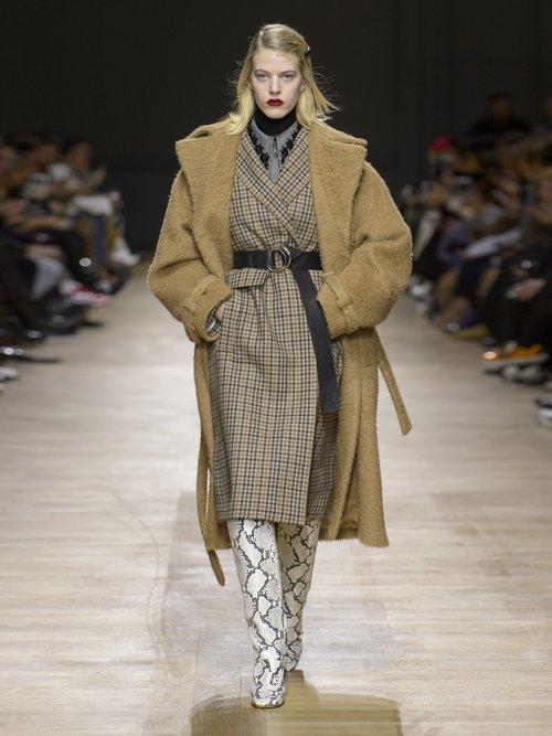 Single Breasted Wool Coat by Rochas