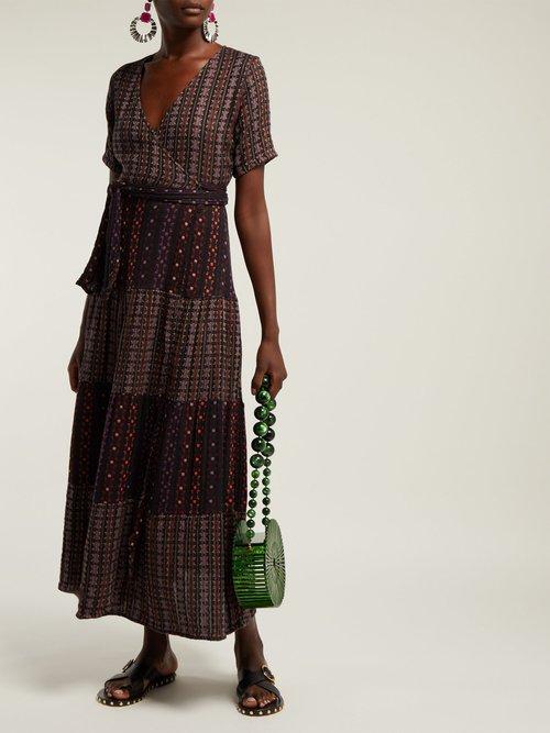 Ellis Tiered Cotton Jacquard Dress by Ace & Jig