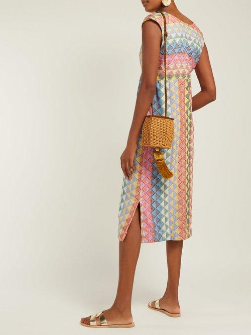 Freda Zigzag Cotton Dress by Ace & Jig