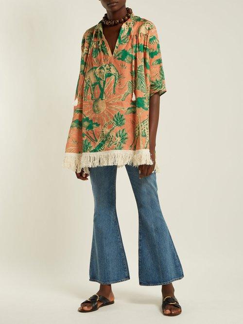 Desta Linen Tunic Top by Chufy