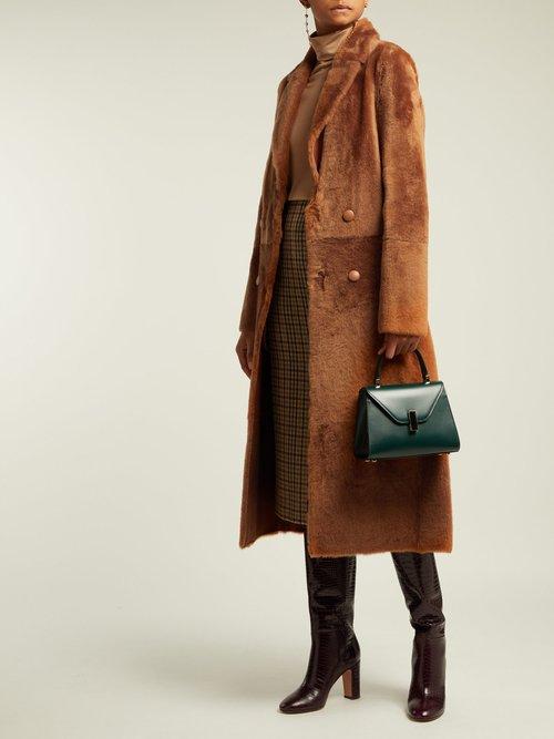Dakota Lacaune Shearling Coat by