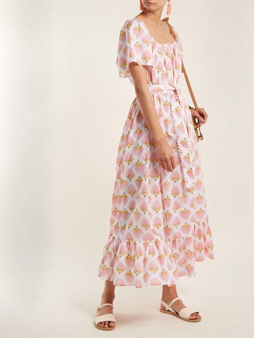 Printed cotton dress by Wiggy Kit
