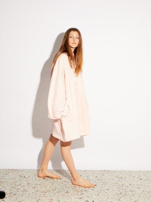 Linen vintage smock dress by Raey