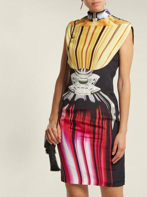 Shalimar Glass Print Dress by Mary Katrantzou