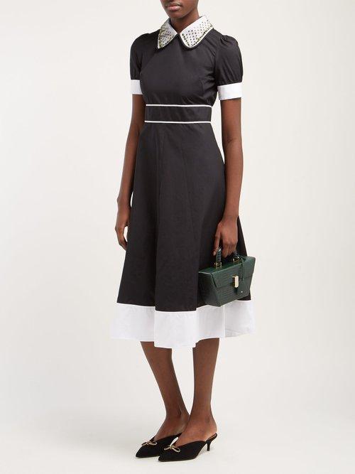 A Line Cotton Dress by No. 21