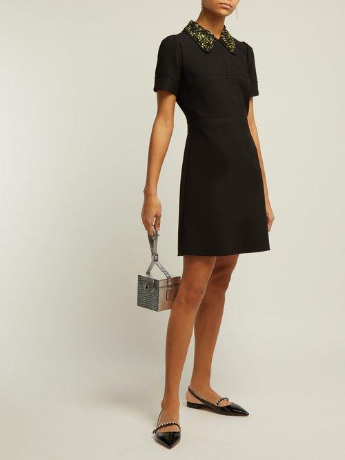 Embellished Mini Dress by No. 21