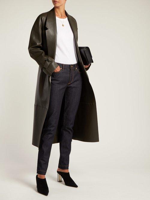Round-neck pima-cotton bodysuit by Summa