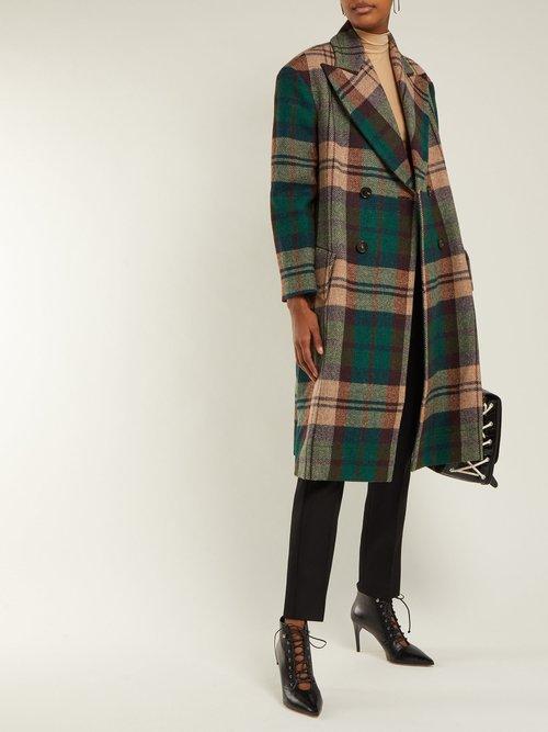 Princess Hecked Harris Tweed Coat by Vivienne Westwood