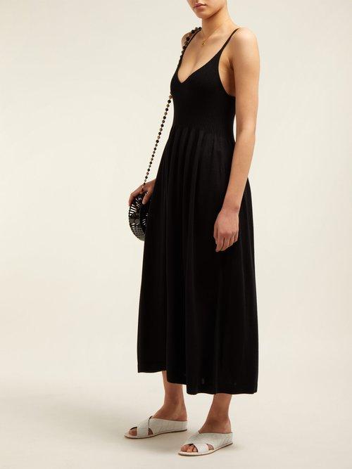 Delilah Jersey Dress by Mara Hoffman