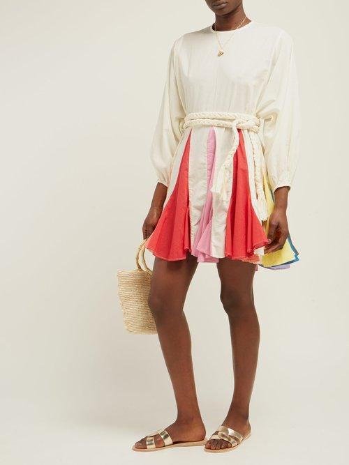 Photo of Ella Cotton Mini Dress by Rhode Resort - shop Rhode Resort dresses online sales