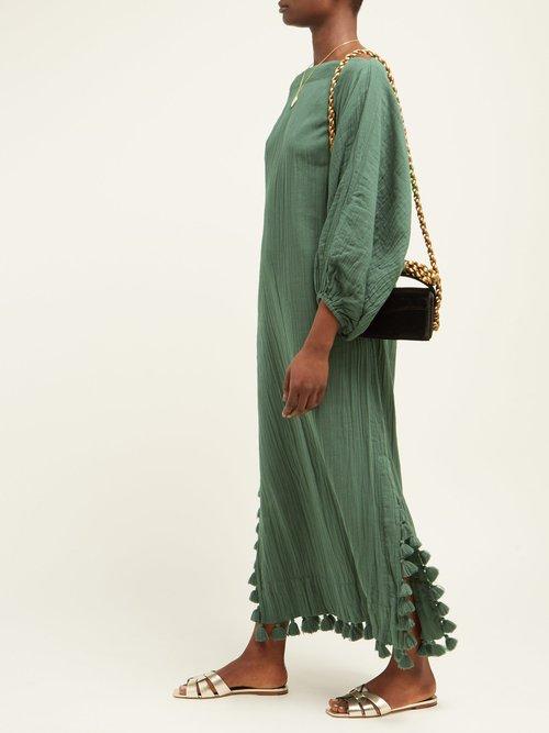 Delilah Boat Neck Cotton Dress by Rhode Resort