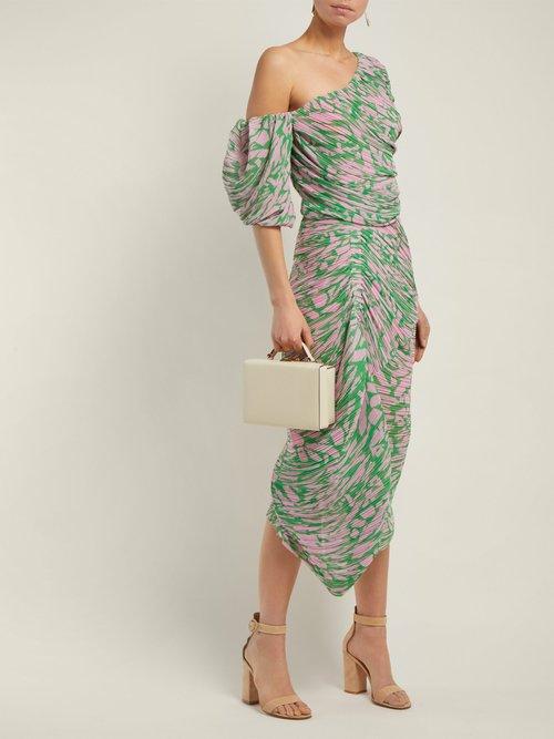 Jane Printed Georgette Dress by Preen By Thornton Bregazzi