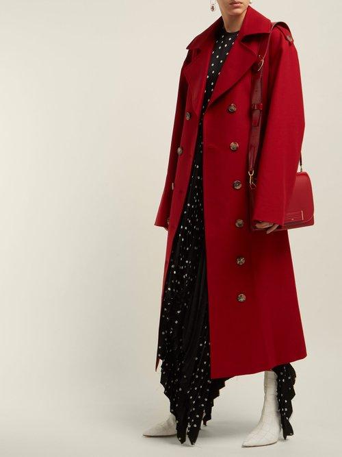 Lauren Cotton Twill Trench Coat by Khaite