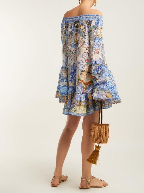 Geisha Gateways Silk Dress by Camilla