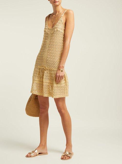 Khloe Crochet Knit Dress by Melissa Odabash