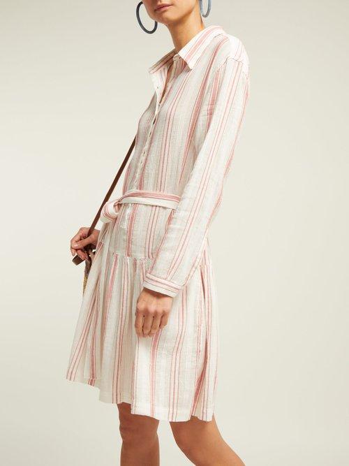 Amelia Striped Cotton Dress by Melissa Odabash