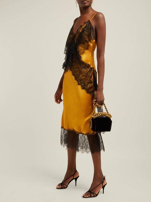 Slingback Suede Sandals by Prada