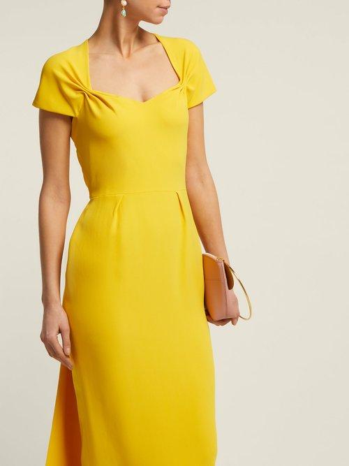 Amal Tie Back Crepe Dress by Stella McCartney