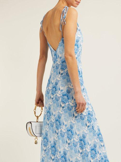 Kalua Bias Cut Maxi Dress by Athena Procopiou