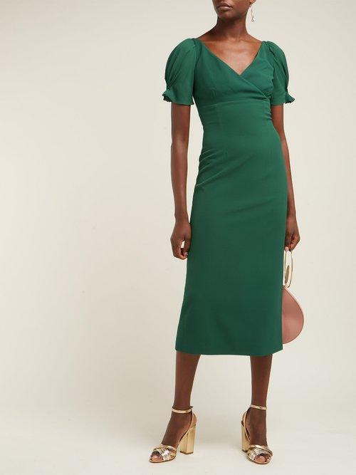 Karinette Crepe Dress by Emilia Wickstead