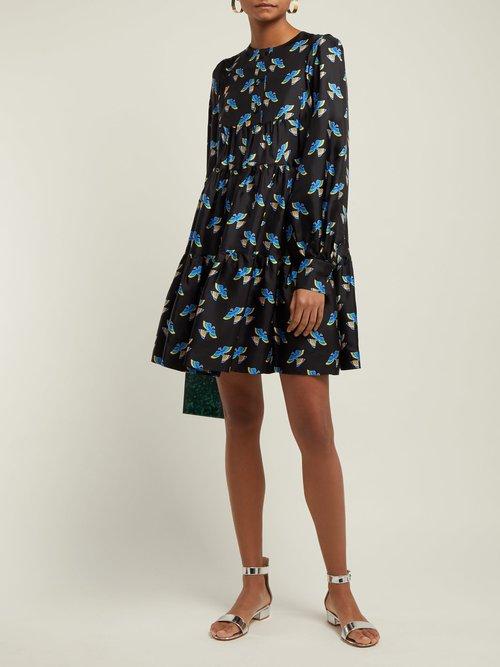 Peasant Mini Dress by La DoubleJ