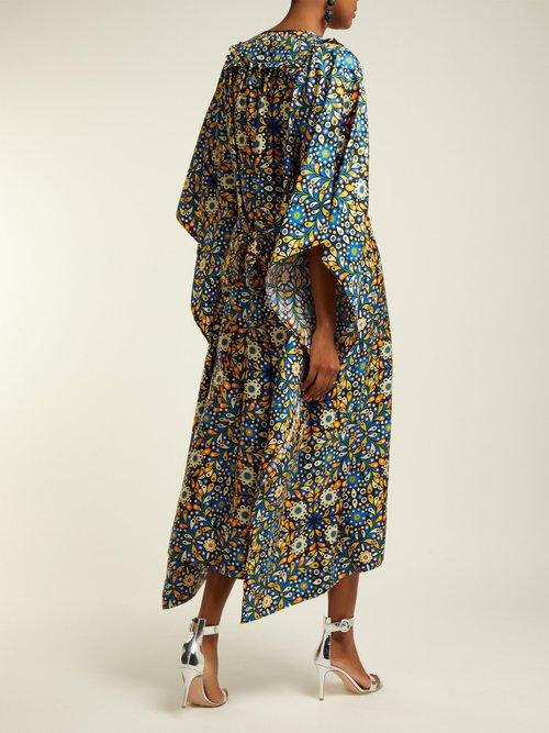 Talitha Silk Katftan by La DoubleJ