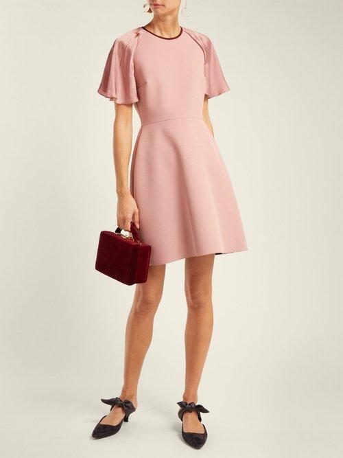 Nia Crepe Mini Dress by Roksanda