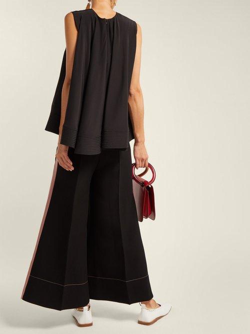 Leya Silk Blouse by Roksanda