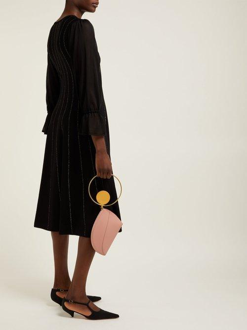 Tovi Striped Knitted Dress by Roksanda