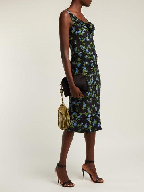 Norma Floral Print Dress by Altuzarra