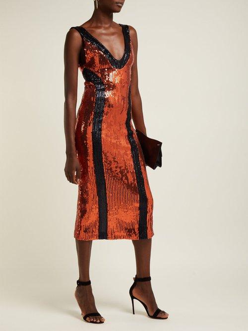 Hero Sequinned Dress by Galvan