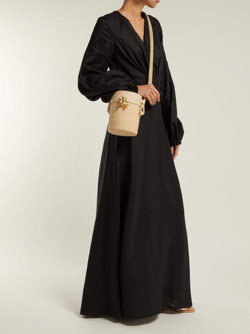 Utopia Linen Maxi Dress by Kalita