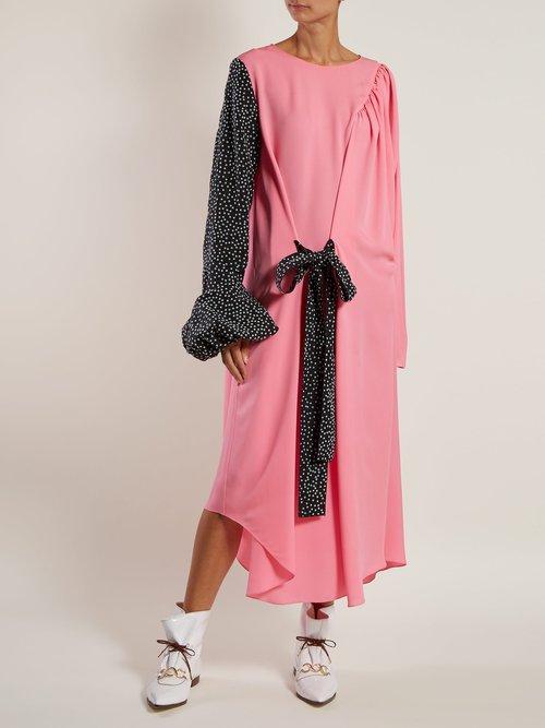 Asymmetric Sleeve Dress by Jw Anderson