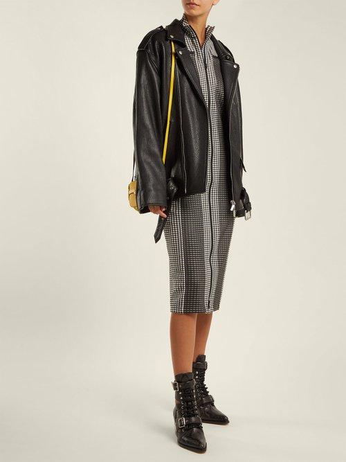 Gingham Zip Through Jersey Dress by Proenza Schouler PSWL