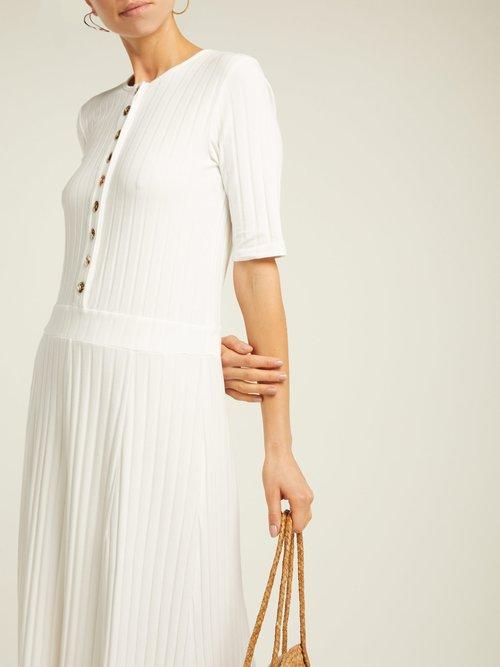 Azul Cotton Blend Maxi Dress by Albus Lumen