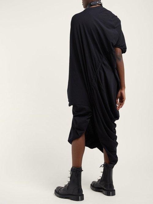 Asymmetric Midi T Shirt Dress by Vetements