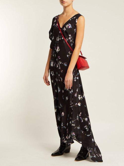 Dana Floral Print Midi Dress by Preen Line