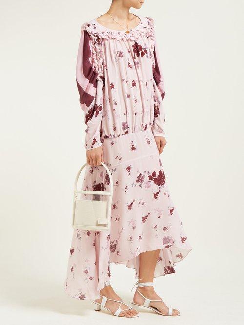 Sora Floral Print Dress by Preen Line