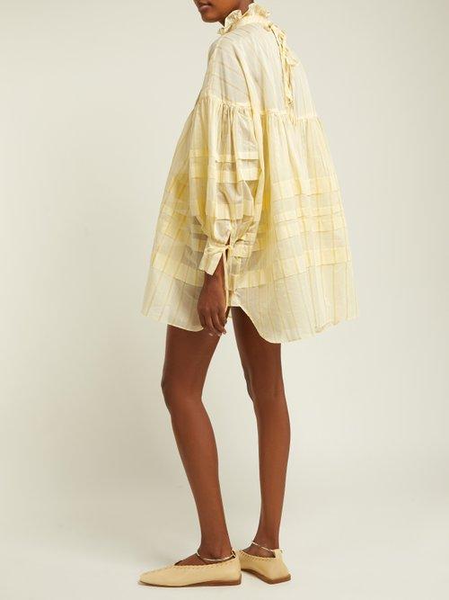 Alberte Cotton Blend Dress by Cecilie Bahnsen