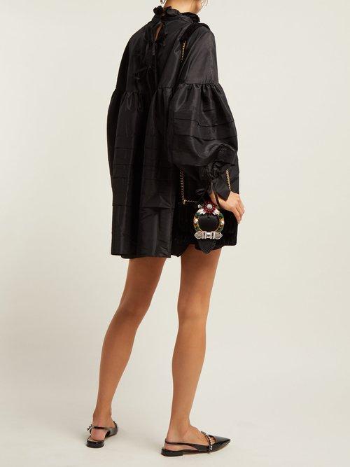 Photo of Alberte Taffeta Dress by Cecilie Bahnsen - shop Cecilie Bahnsen dresses online sales