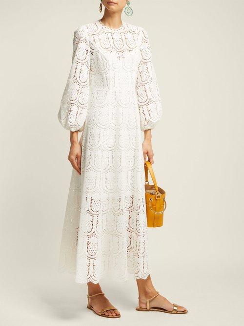Wayfarer Crochet Lace Maxi Dress by Zimmermann