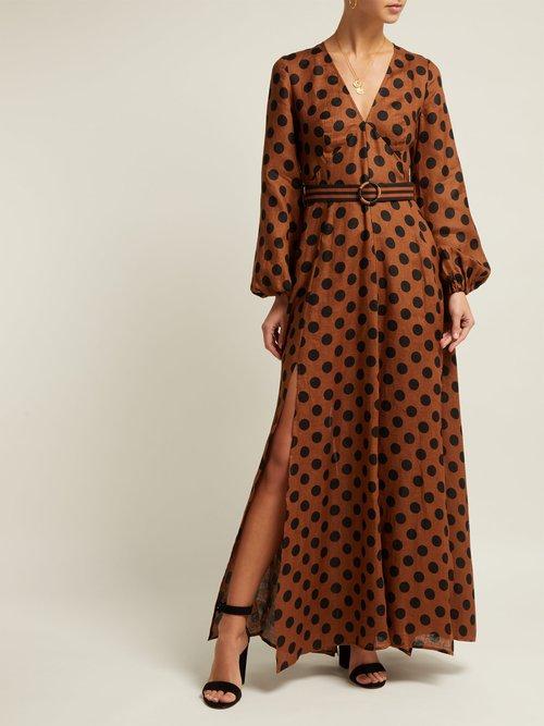 Juno Split Maxi Dress by Zimmermann