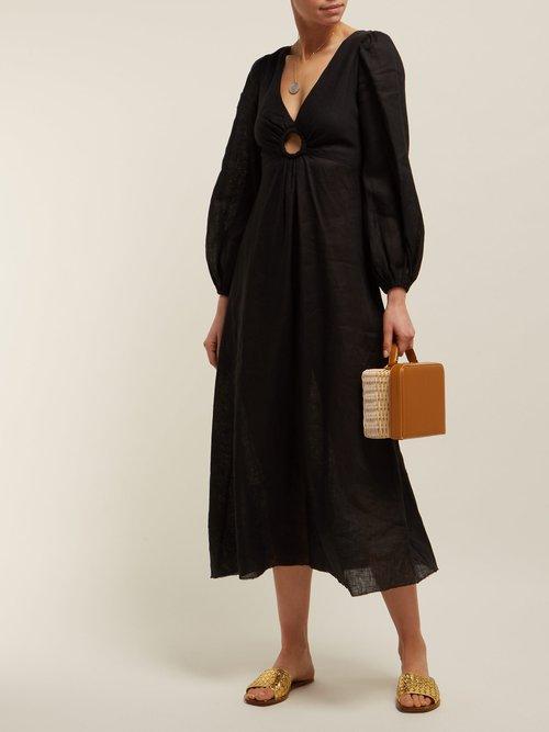 Wayfarer Linen Dress by Zimmermann