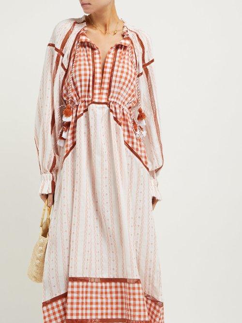 Regina Tassel Cotton Dress by Dodo Bar Or