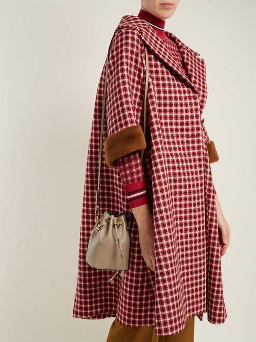 My Treasure leather cross-body bag by Fendi