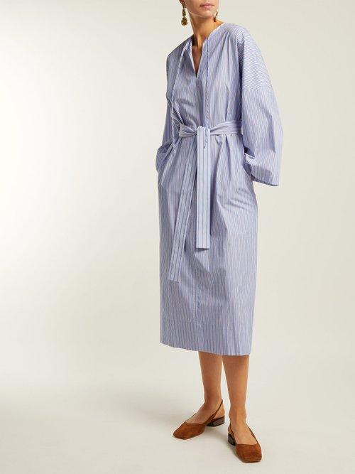Koda Striped Cotton Tunic Dress by Joseph