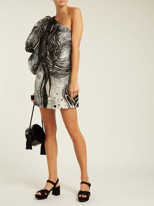 X Brett Whiteley Starry Night Print Dress by Aje