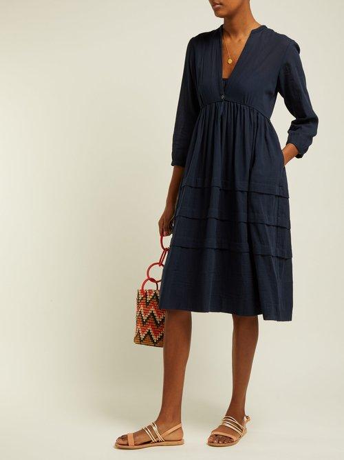 Nova Organic Cotton Midi Dress by Loup Charmant