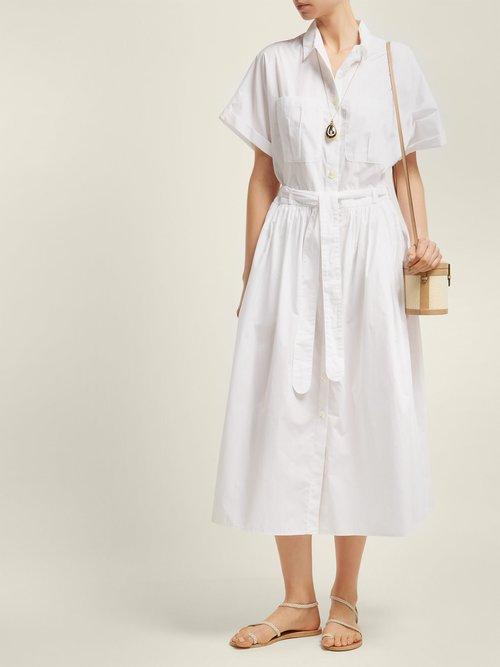Pamlico Cotton Shirtdress by Loup Charmant